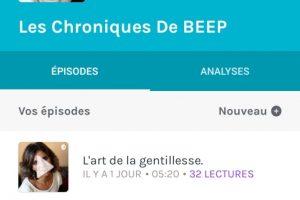 LES CHRONIQUES DE BEEP
